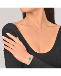 Marc Jacobs | Blue Logo Disc Hinge Bracelet | Lyst