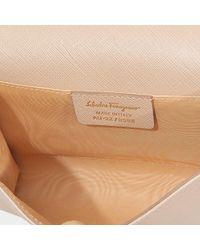 Ferragamo - Brown Ginny Small Flap Bag - Lyst