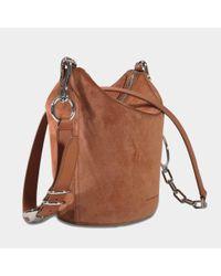 Alexander Wang - Brown Ace Crossbody Bag In Terracotta Calfskin - Lyst