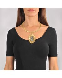 Sylvia Toledano - Metallic Pyrite Necklace - Lyst
