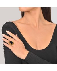 Sylvia Toledano - Black Dots Malachite Ring - Lyst