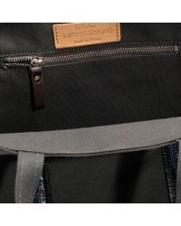 Vanessa Bruno - Gray Canvas And Sequins Medium + Tote In Steel Grey Cotton - Lyst