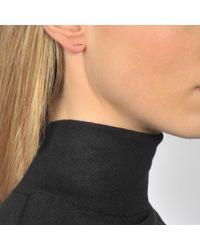 Ginette NY | Metallic Gold Strip Earrings | Lyst