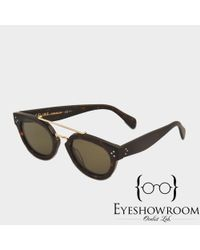 Céline - Brown Cl 41043/s New Preppy Sunglasses - Lyst
