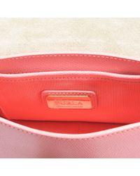 Furla - Metropolis Mini Crossbody Bag In Pink Quartz Ares Leather - Lyst