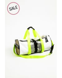 Monreal London | Yellow Warrior Bag White for Men | Lyst