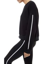 Monreal London - Cropped Sweatshirt Black - Lyst