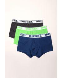 DIESEL - Gray Trunks for Men - Lyst