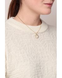 Anne Thomas - White Necklace / Longcollar - Lyst