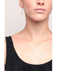 Pieces | Black Earrings | Lyst