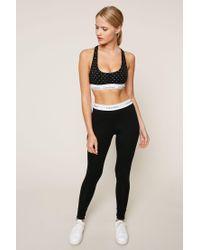 Calvin Klein | Black Pyjama And Babydoll | Lyst