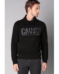Calvin Klein | Black Sweatshirt for Men | Lyst
