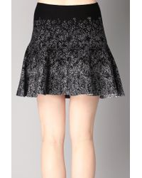 BCBGeneration - Black Mini Skirt - Lyst