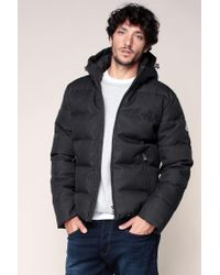 Pyrenex | Gray Quilted Jacket for Men | Lyst
