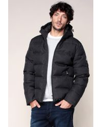 Pyrenex   Gray Quilted Jacket for Men   Lyst
