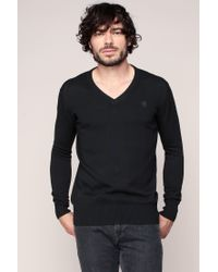G-Star RAW | Black Sweater & Cardigan for Men | Lyst
