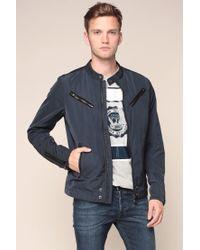 DIESEL | Blue Jacket for Men | Lyst