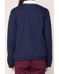 Mkt Studio - Blue Sweatshirt - Lyst