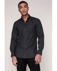 Jack & Jones | Black Long Sleeve Shirt for Men | Lyst