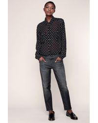 J Brand | Black Straight-leg Jeans | Lyst