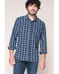 Pepe Jeans - Blue Long Sleeve Shirt for Men - Lyst