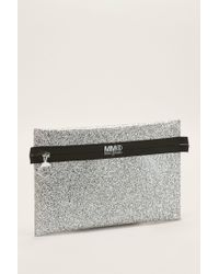 MM6 by Maison Martin Margiela - Gray Clutches / Evening Bags - Lyst