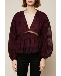 Free People - Red Top - Lyst