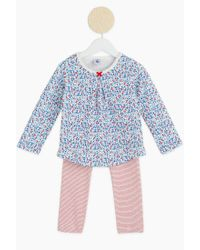 Petit Bateau - Blue Pyjama And Nightdresse - Lyst