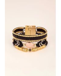 Hipanema - Black Bracelet - Lyst