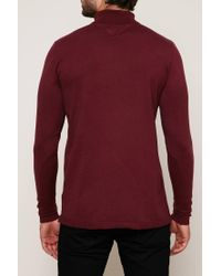 Hilfiger Denim - Red Sweater & Cardigan for Men - Lyst