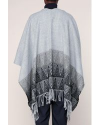 Pieces - Gray Cape & Poncho - Lyst