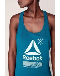 Reebok - Blue Sports Clothe - Lyst