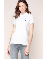 Polo Ralph Lauren - White T-shirts & Polo Shirts - Lyst