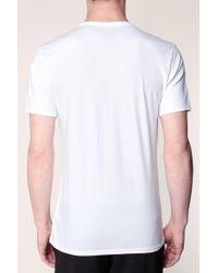 Calvin Klein - White T-shirt for Men - Lyst
