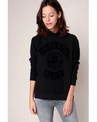 Maison Scotch | Black Sweatshirt | Lyst
