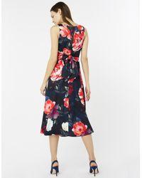 Monsoon - Blue Rosa Fit & Flare Dress - Lyst
