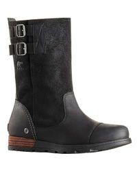 Sorel - Black Major Pull On Boot - Lyst
