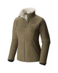 Mountain Hardwear - Green Dual Fleece Jacket - Lyst