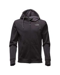The North Face - Black Surgent Lfc Full Zip Hoodie for Men - Lyst