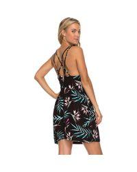 Roxy - Black Antelope Curves Dress - Lyst