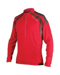 Endura - Red Hummvee Long Sleeve Jersey for Men - Lyst