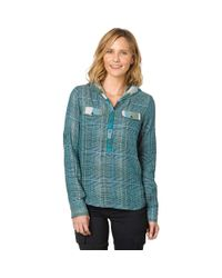 Prana - Blue Anja Top - Lyst
