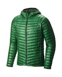 Mountain Hardwear - Green Ghost Whisperer Hooded Down Jacket for Men - Lyst