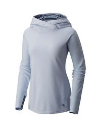 Mountain Hardwear - Blue Microchill Lite Tunic - Lyst