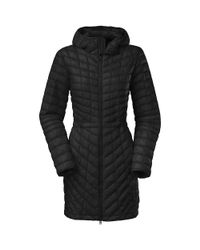 The North Face - Black Thermoball Hooded Parka - Lyst