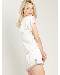 Morgan Lane - White Joanie Top In Vanilla - Lyst