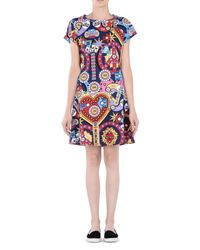 Love Moschino - Blue 3/4 Length Dress - Lyst