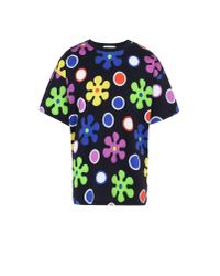 Moschino | Black Short Sleeve T-shirts for Men | Lyst
