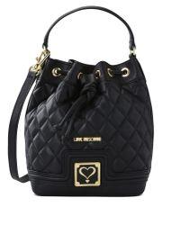 Love Moschino | Black Bucket Bag | Lyst