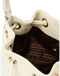 Love Moschino - White Bucket Bag - Lyst